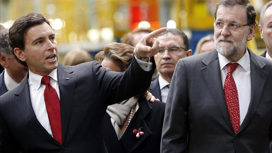 Rajoy estima la apuesta de Ford por España como una clave de la recuperación