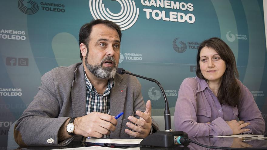 Javier Mateo y Eva Rodríguez, hoy en rueda de prensa