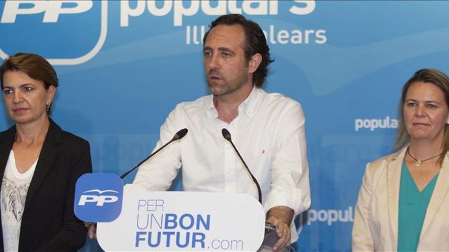 Bauzá dejará la Presidencia del PP balear después del verano