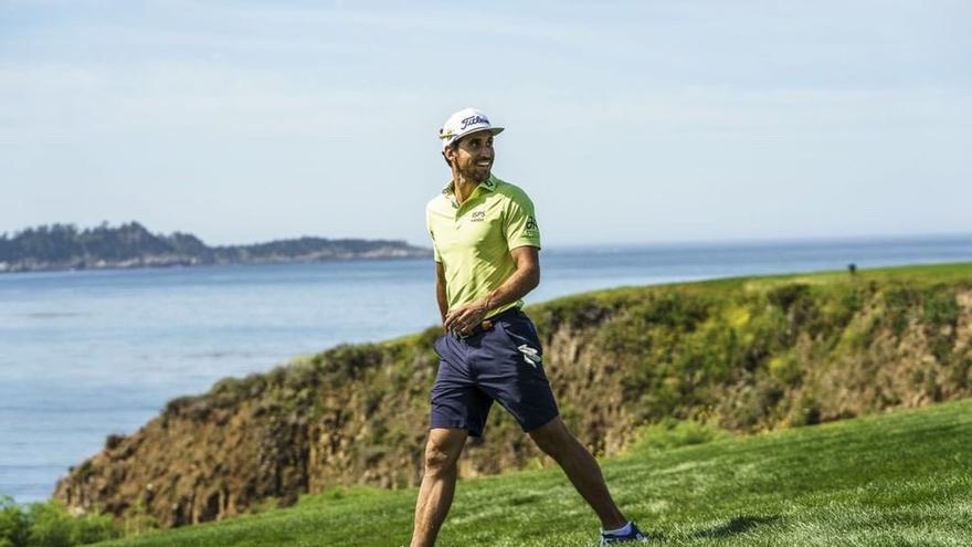 Rafa Cabrera, en el US Open
