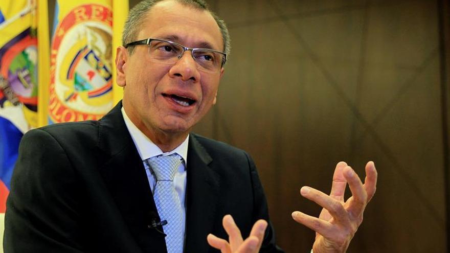 El vicepresidente de Ecuador inicia una gira por Europa por Acuerdo Multipartes