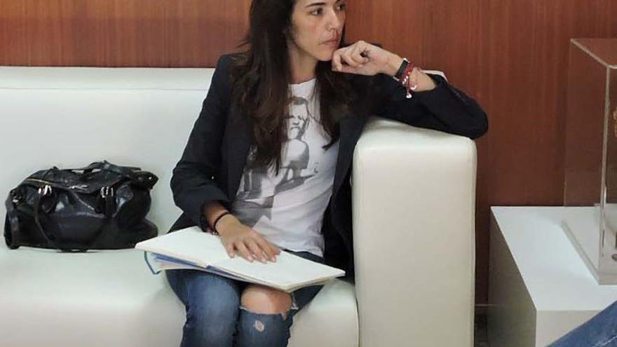 Celia Alberto, diputada del PP por la provincia de Las Palmas.