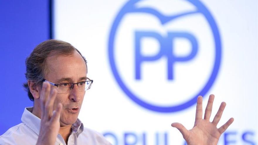 """Alonso: """"Si el PNV se emborracha de poder, irá por el camino de la ruptura"""""""