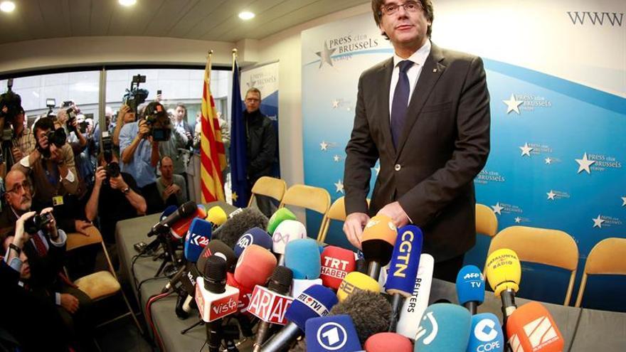 Puigdemont no aclara su futuro inmediato