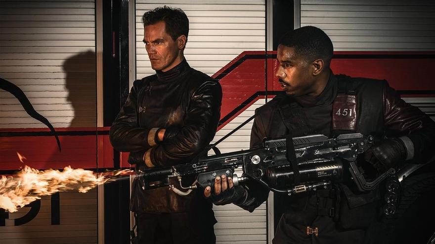 Michael Shannon y Michael B. Jordan protagonizan 'Fahrenheit 451'