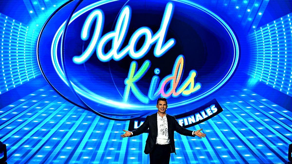 Jesús Vázquez en 'Idol Kids'