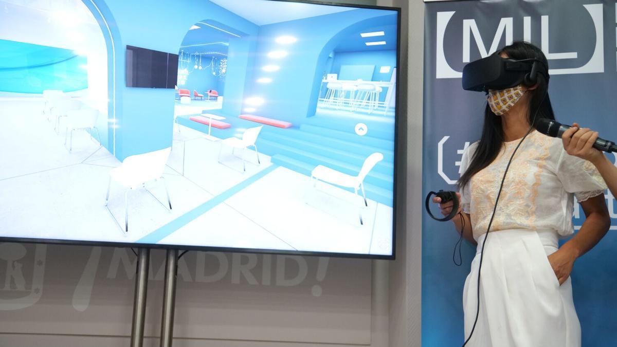 La vicealcaldesa Begoña Villacís, en la presentación del Madrid Innovation Lab