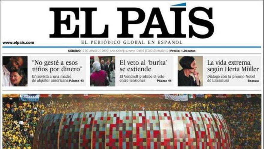 De las portadas del día (12/06/2010) #6