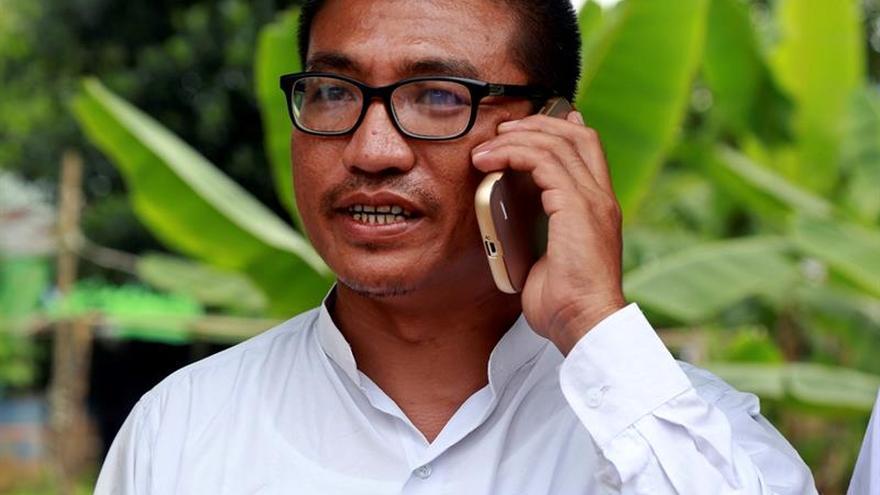 Liberado el monje birmano que lideró la revuelta contra la junta en 2007