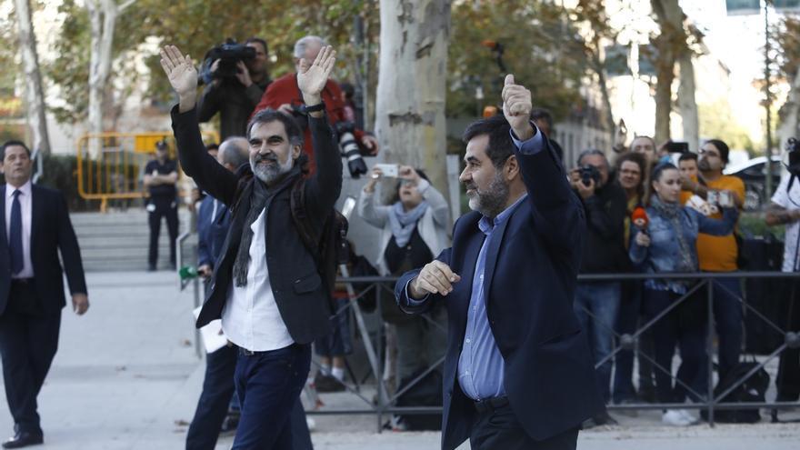 "Jordi Cuixart afirma que 17 años de cárcel no le harán ""renunciar"" a sus objetivos"