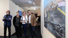 Inauguración de la exposición con piezas de la sala Conca en el municipio de Arona