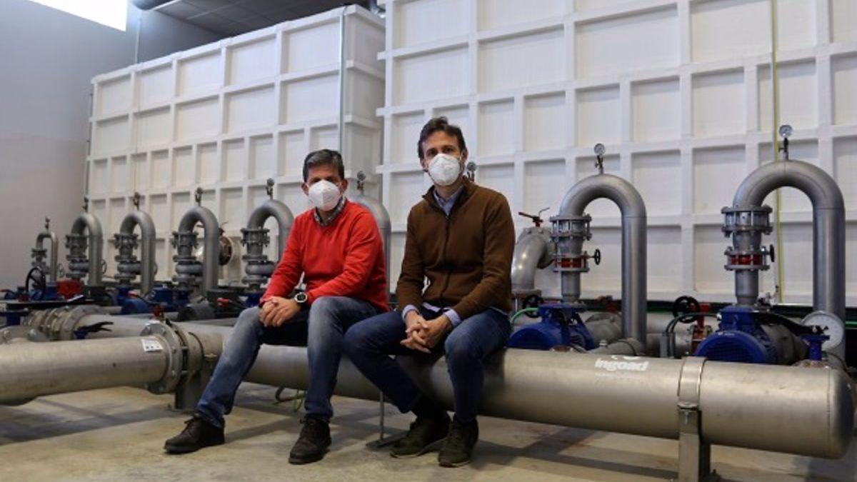 Los investigadores Juan Antonio Rodríguez (izda.) y Jorge García, autores del estudio.