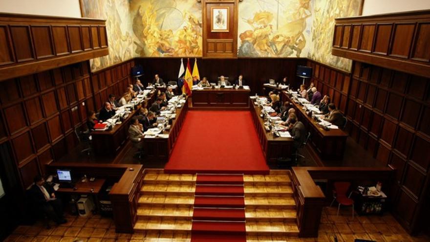 Pleno del Cabildo de Gran Canaria #1