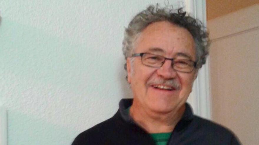 El integrante de la Fundación Nueva Cultura del Agua, Fito Jiménez.
