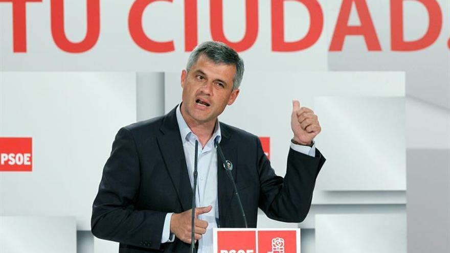 El alcalde de Móstoles encabeza la lista del PSOE para el Senado por Madrid