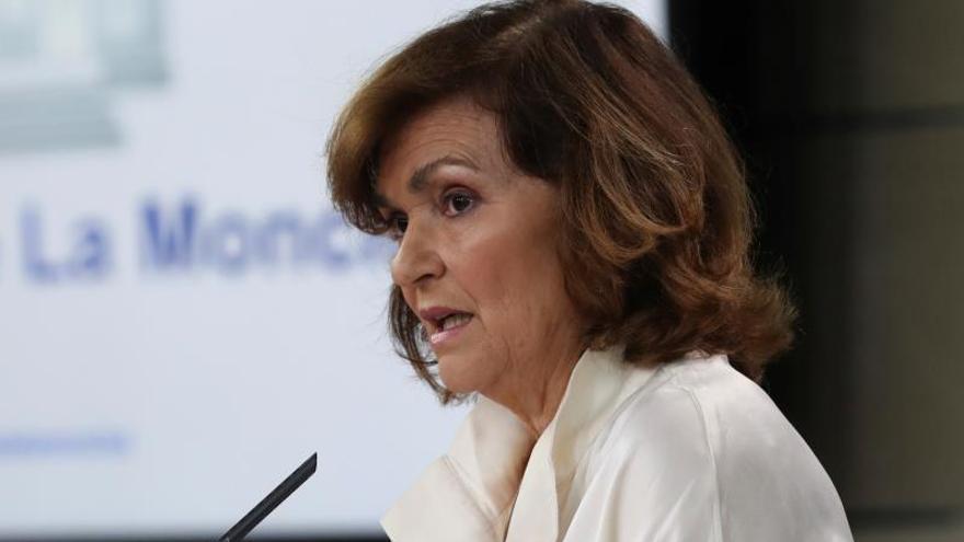 """Calvo garantiza que el Gobierno """"no tira la toalla"""""""