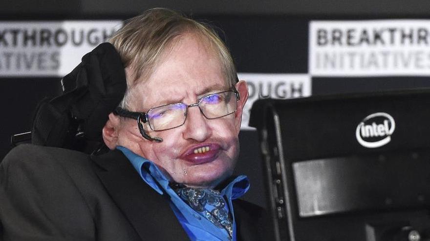 """La voz de Hawking resonará en el espacio en un mensaje de """"paz y esperanza"""""""