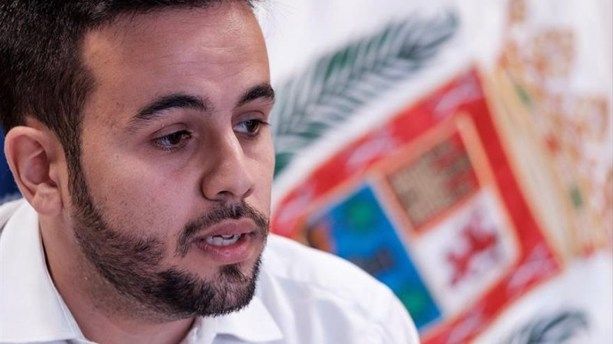 El concejal de Ciudadanos en Las Palmas de Gran Canaria Javier Amador. EFE/Ángel Medina G.