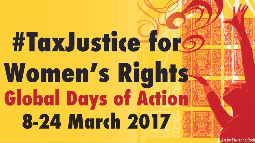 Cartel Tax Justice for Women´s Rights