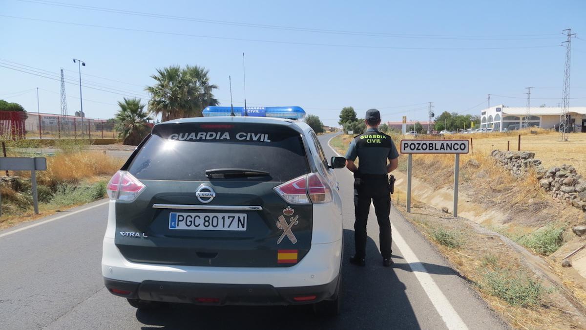 La Guardia Civil en el Puesto de Pozoblanco.