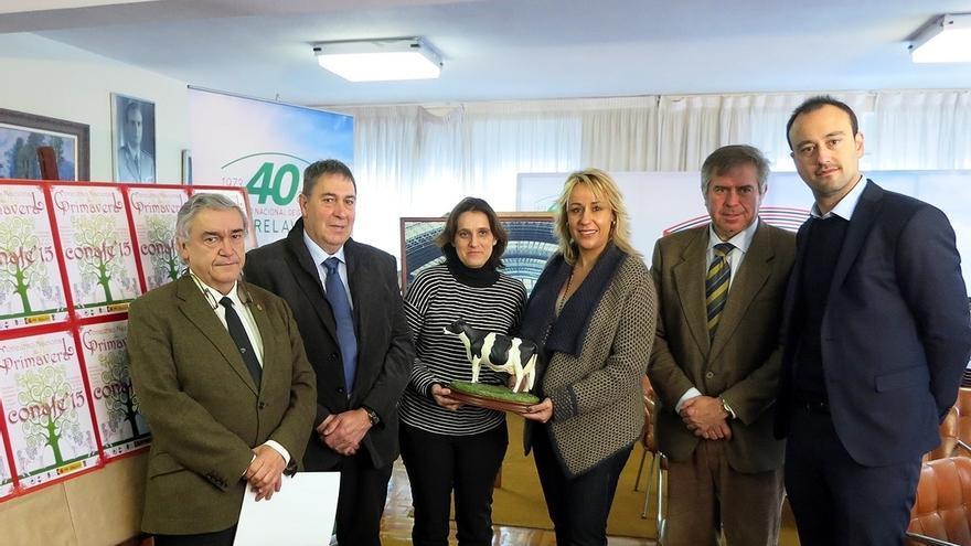 Las 50 mejores vacas frisonas de España compiten en el concurso de Conafe
