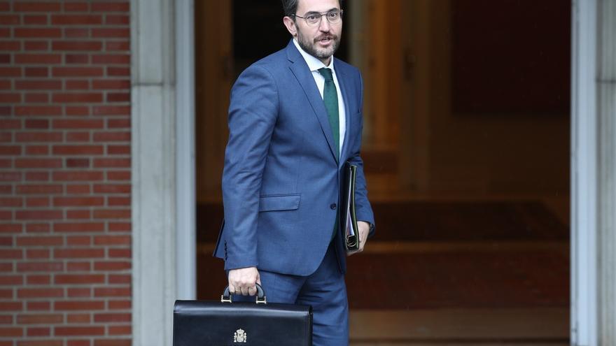 """Màxim Huerta anuncia que una mujer ocupará """"seguramente"""" la Secretaría de Estado de Deportes"""