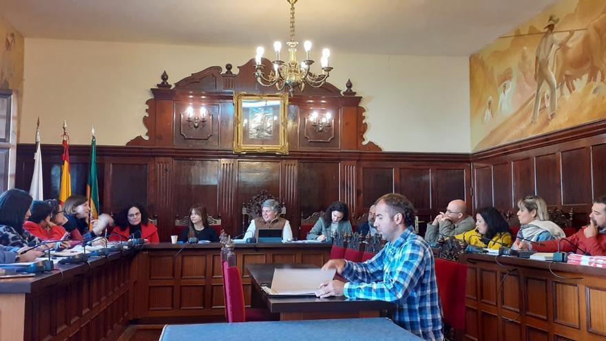 Reunión Mesa Local por el Empleo  de Los Llanos de Aridane.