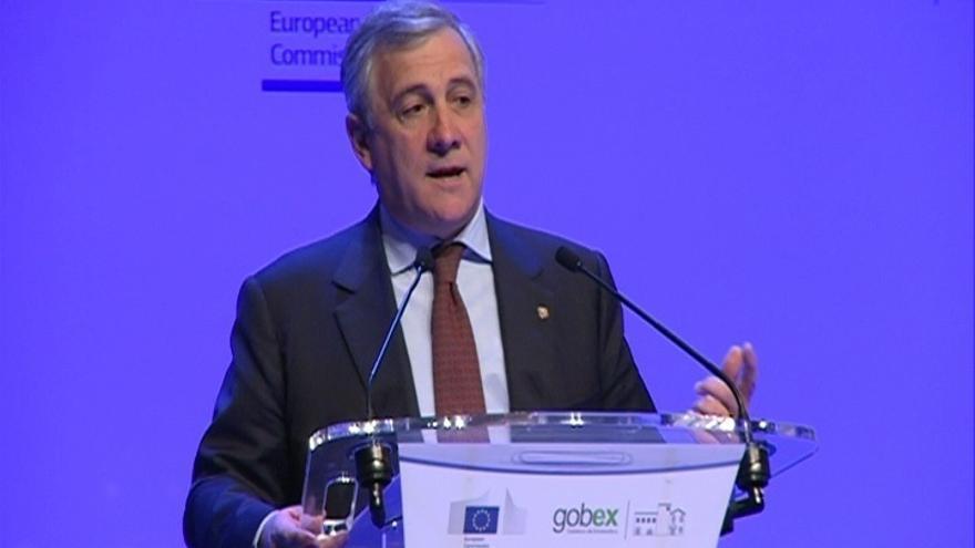 """El presidente de la Eurocámara subraya la ilegalidad del 1-0 pero aboga por buscar una """"solución política"""""""