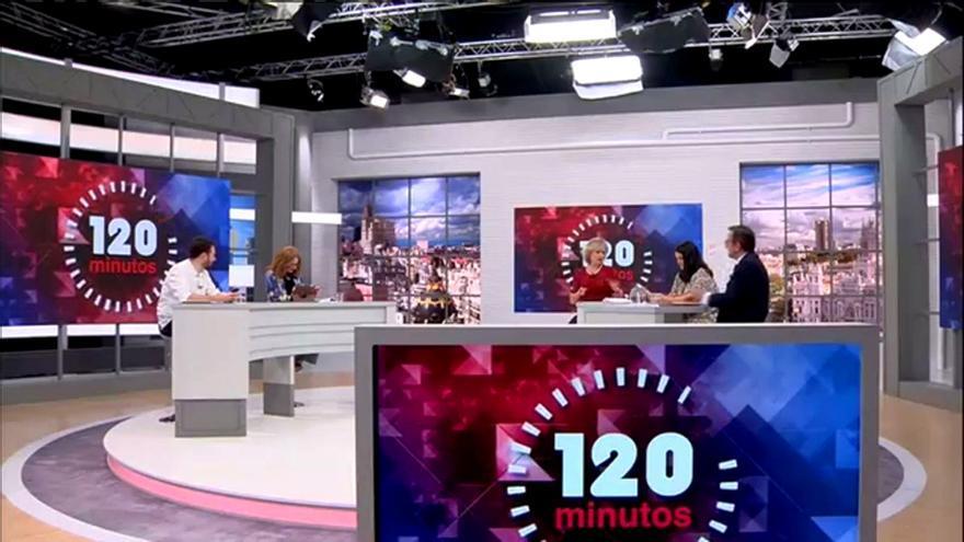 120 minutos, con María Rey en Telemadrid