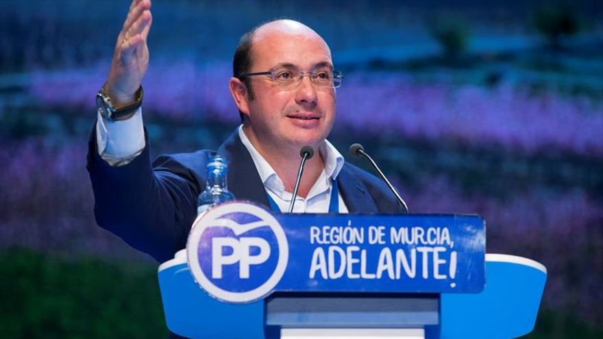 Admitida a trámite la moción de censura del PSOE contra el presidente de Murcia