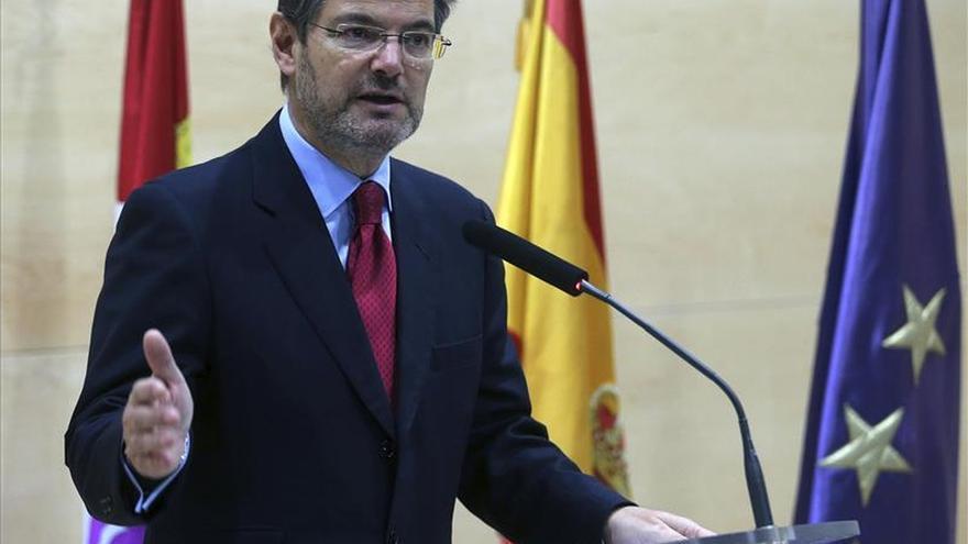 Catalá anuncia que presentará en breve modificaciones a la Ley de Tasas