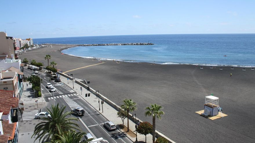 Playa de Santa Cruz de La Palma.