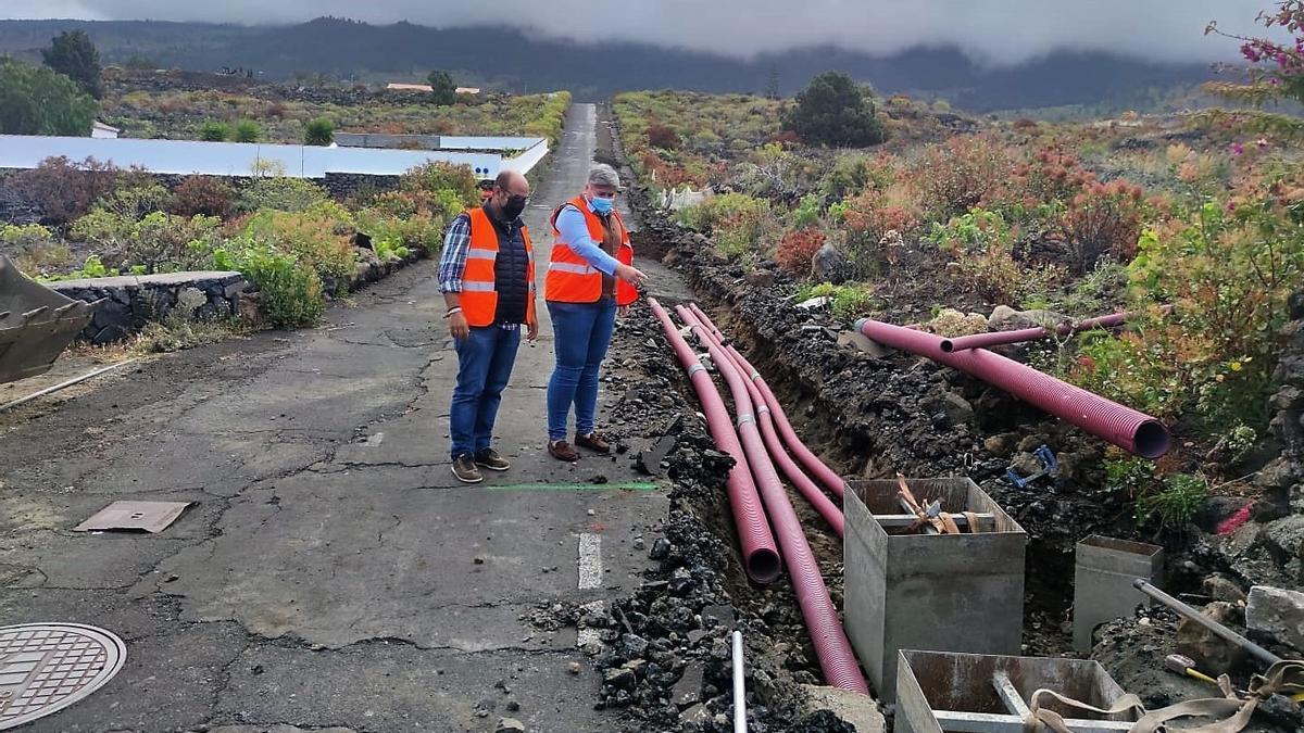 Comienza las obras de asfaltado del Camino La Jurona.