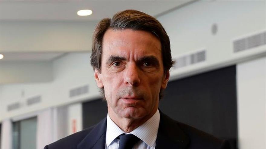 Aznar: La reforma constitucional no debe ser un pago a plazos al secesionismo