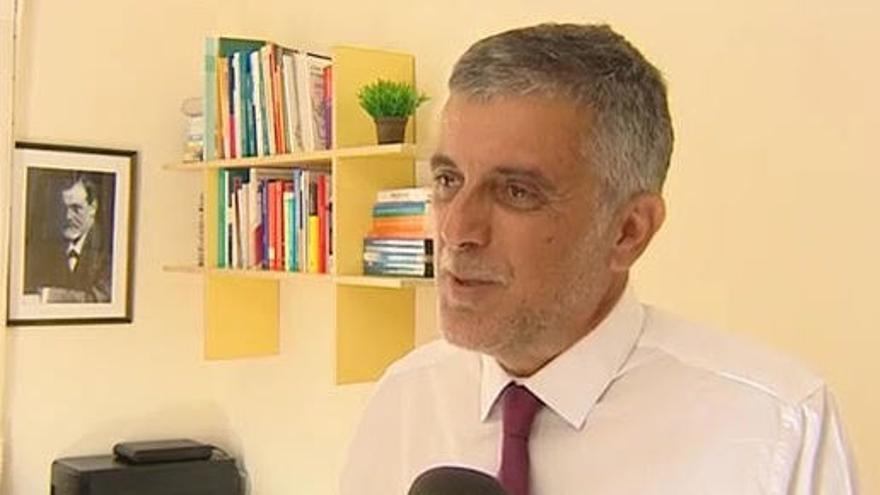 Félix González es presidente de la Asociación Canaria de Neuropsiquiatría y Salud Mental.
