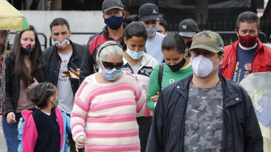 Colombia llega a 1.233.444 casos de covid-19 con 7.954 contagios nuevos