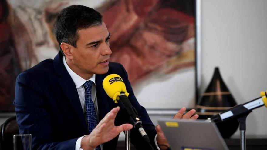 """Sánchez acusa a Iglesias de convocar la consulta para justificar el """"no"""""""