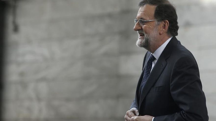 El presidente del PP y del Ejecutivo español, Mariano Rajoy.
