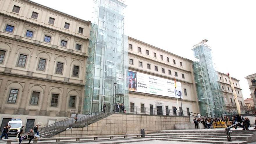 - Vista exterior del Centro de Arte Reina Sofía situado en Madrid.