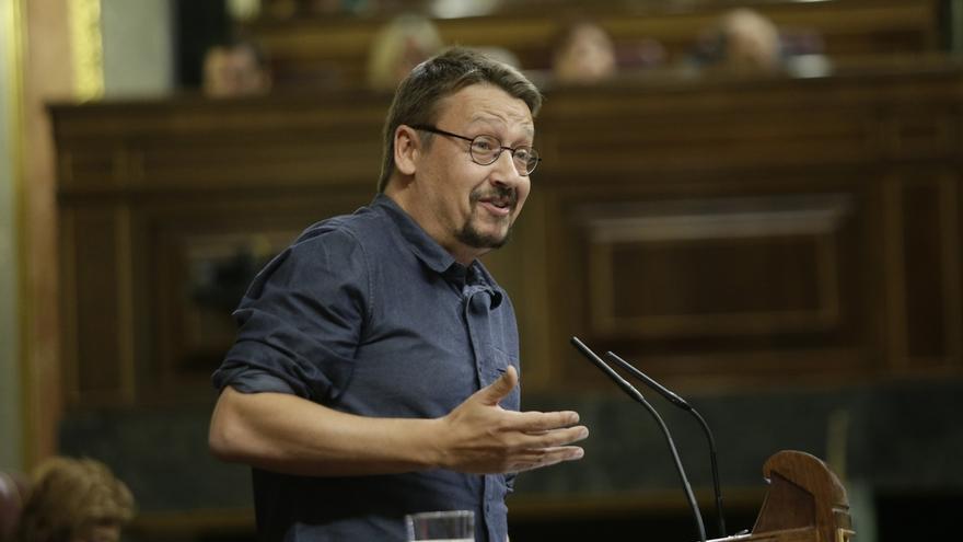 """Domènech (CatComú) reclama """"amnistía ya"""" para los exconsellers encarcelados"""