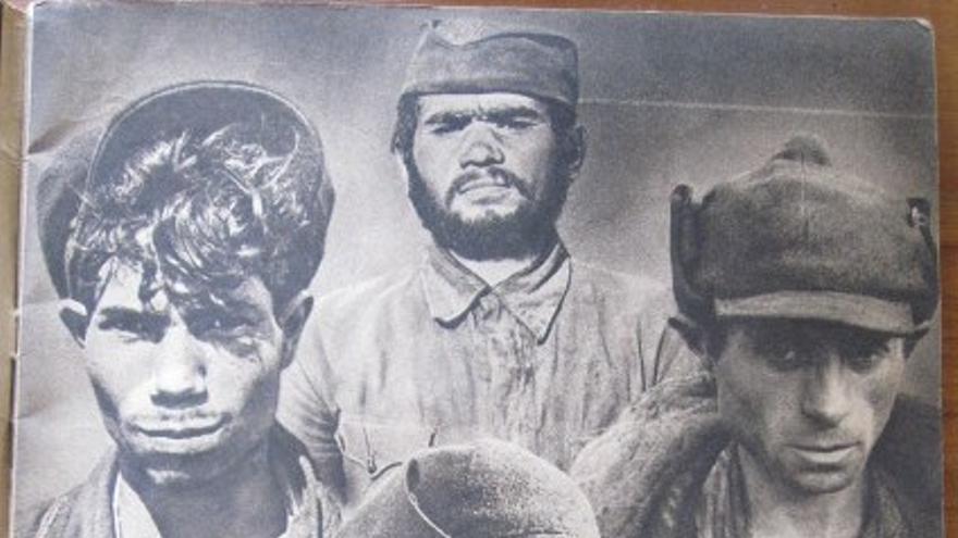 Imagen del panfleto de las SS 'Der Untermensch' (Los subhumanos)
