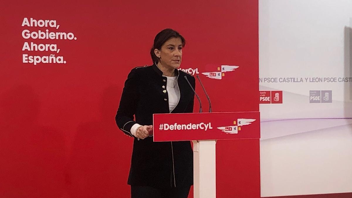 Ana Sánchez, secretaria del PSOECyL.