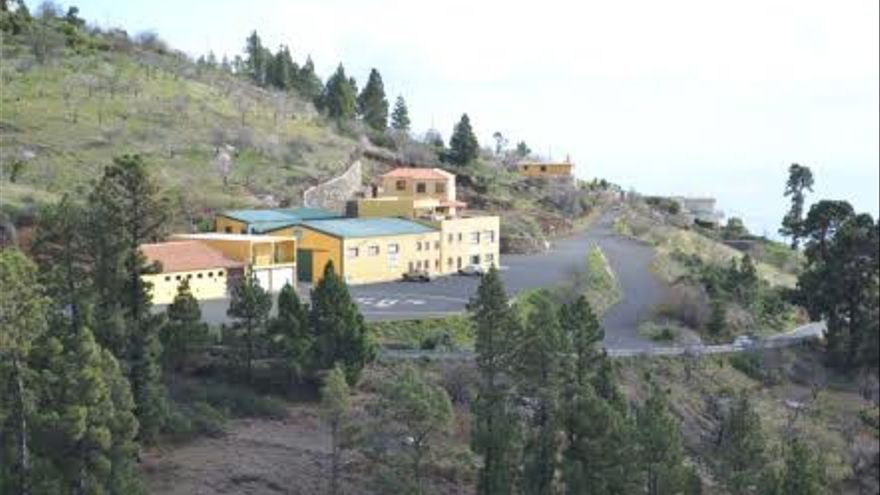 Zona agroindustrial de Bellido, en el municipio de Tijarafe.
