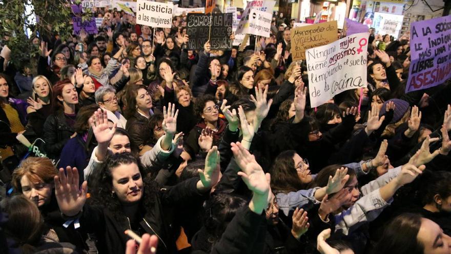 """Manifestación en Madrid al grito de """"ni una más"""". Foto: David Conde"""