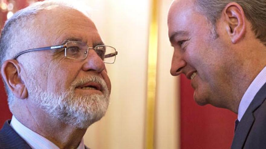 Juan Cotino y Alberto Fabra.