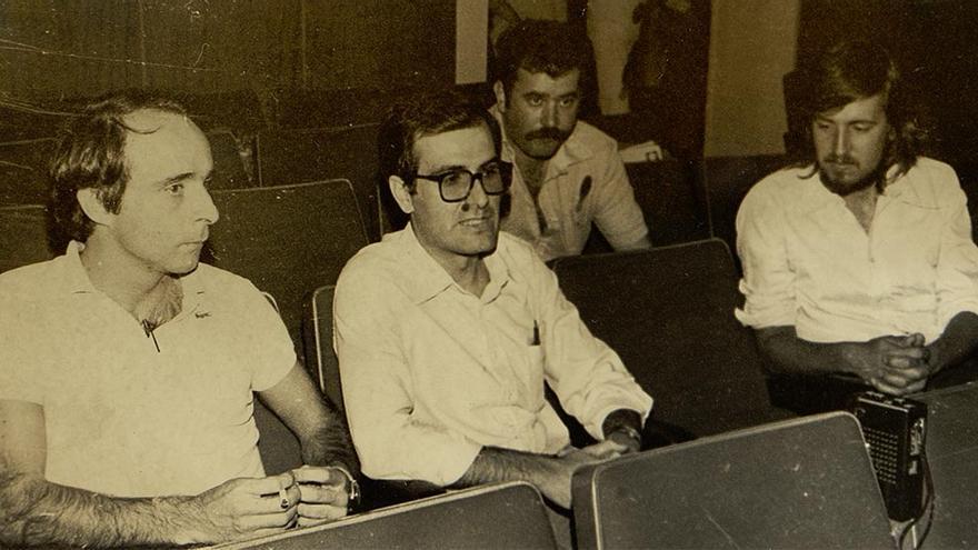 Rueda de prensa en el II Congreso.