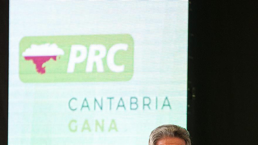 Miguel Ángel Revilla durante su intervención en la Asamblea Municipal del PRC de Santander. | PRC