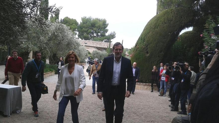 """Rajoy reafirma su defensa de las diputaciones frente a la propuesta de Ciudadanos, que """"dice que no sirven para nada"""""""