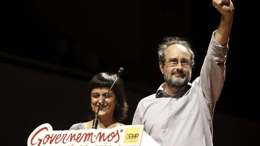 La CUP urge a declarar la independencia el 27S si hay mayoría absoluta de votos