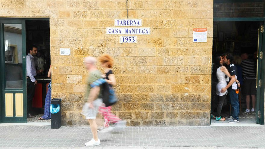 Casa Manteca, en Cádiz.